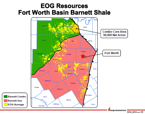 EOG Paving the Way for Oil in the Barnett Shale Play