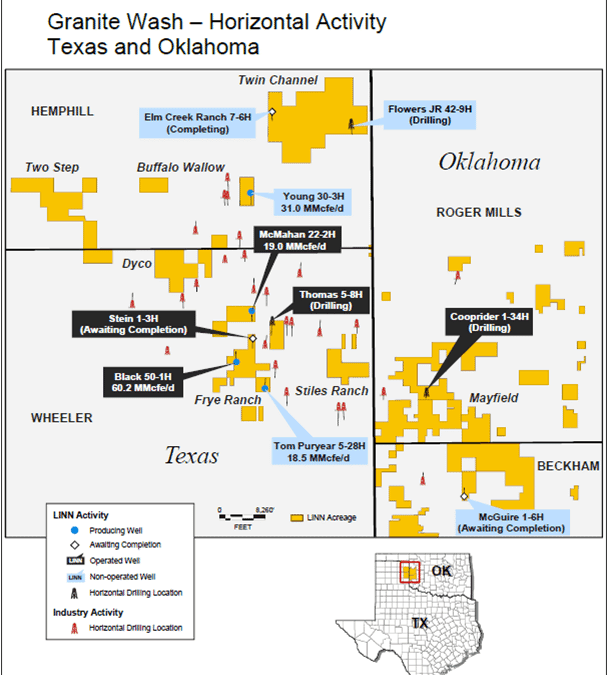 Linn Energy Holds 2Q2010 Conference Call, Excited About TX and OK Granite Wash