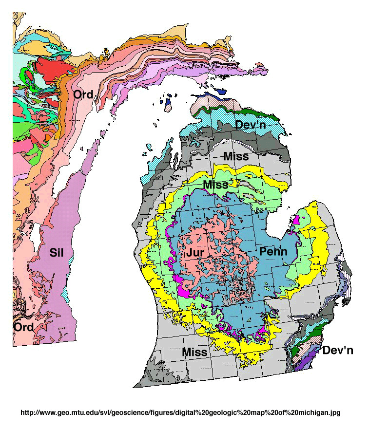 Michigan Basin Geology Makes Michigan A Great Oil and Gas State