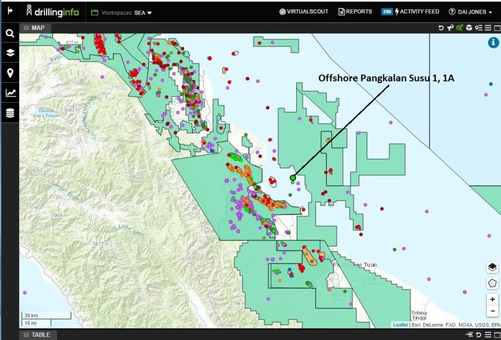 Offshore Oil and Gas Pangkalan Susu