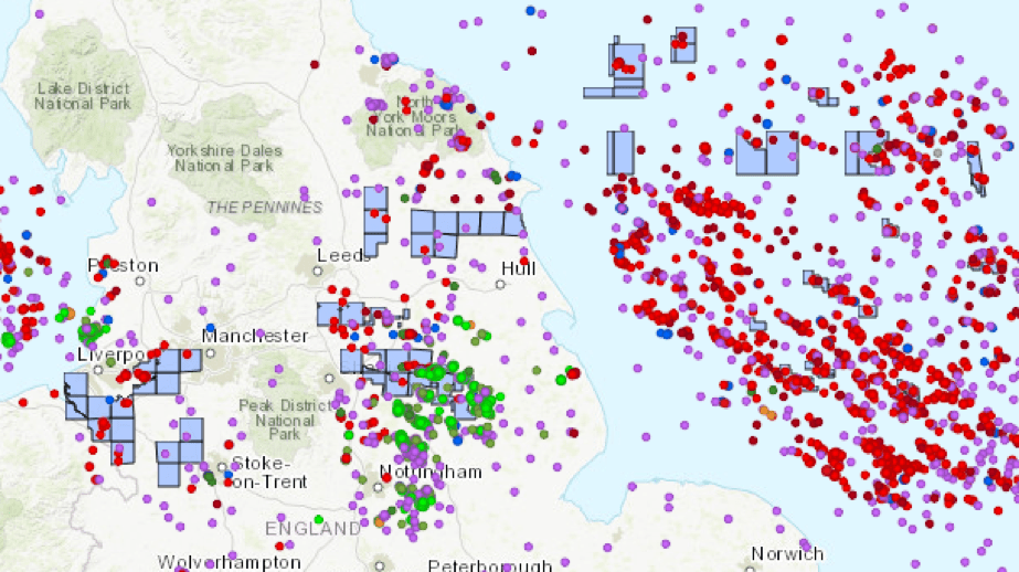 Map of INEOS activity 2