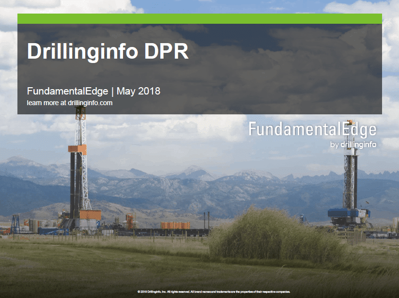 Drilling Productivity Report – May 2018