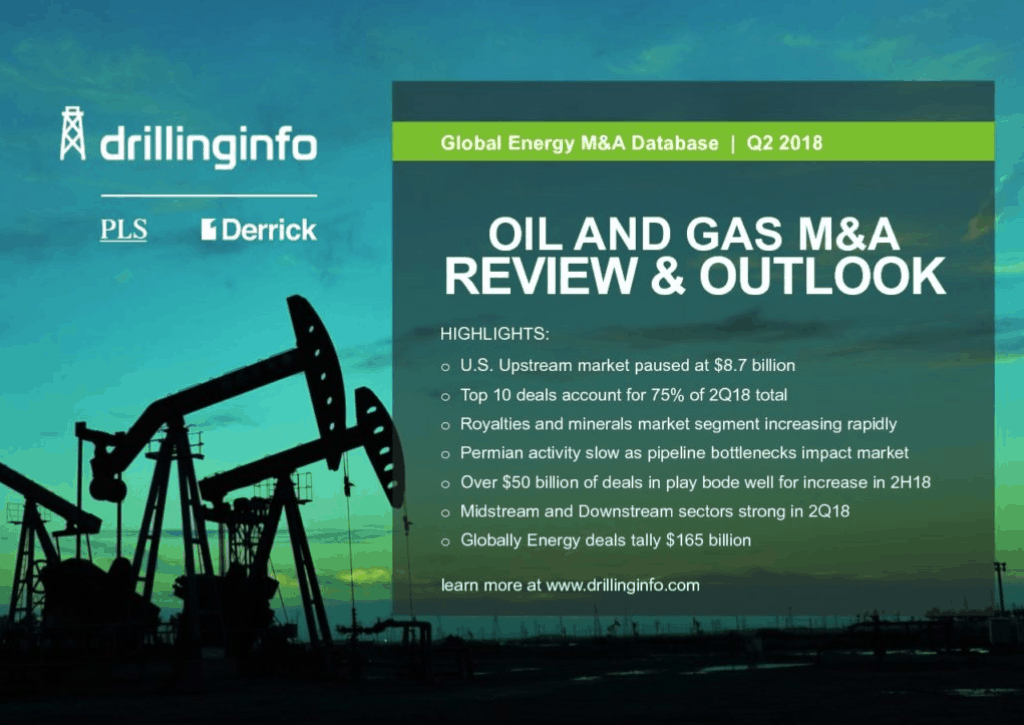 Oil and Gas M&A Review and Outlook – Enercom