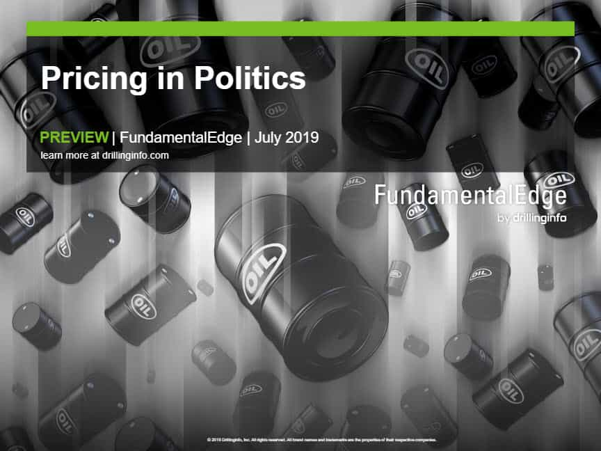 2019.7 Upstream – July FundamentalEdge: Pricing in Politics [Thank You]