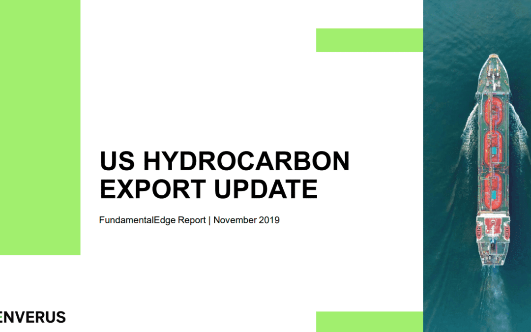 Enverus: Tracking America's Exports Key to Understanding Future of Hydrocarbons Markets